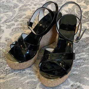 Jimmy Choo wedges size 38, almost new condition.